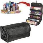 Travel Buddy 4 In 1 Roll N Go Cosmetic Bag Toiletry Organizer Jewellery