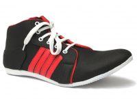 Guava Black Canvas Sneaker Shoes - Gv15jb131