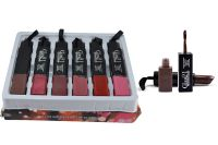 Glam 21 Professional Lipgloss & Lipstick Pack Of 6 Pcs-pgrh-b-(code - Gm-b1035-b-6pcs-lpsk-lt32-ws)