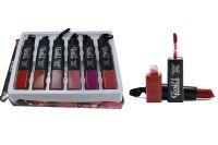 Glam 21 Professional Lipgloss & Lipstick Pack Of 6 Pcs-pgrh-e-(code - Gm-e1035-e-6pcs-lpsk-lt32-ws)