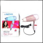 Premium Quality Nova Professional Hair Dryer 850 Watts