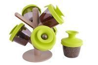 Set Of 6 PCs Pop Up Spice Rack Tree Shaped Rack For Spices
