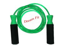 Dreamfit Green Skipping Ropes With Bearing And Spring
