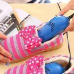 Adjustable Electric Shoe Dryer Warmer Heater Dehumidifier Deodorizer Boot S