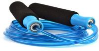 Claxon 9 Feet Ball Bearing Skipping Rope(blue, Black, Pack Of 1)