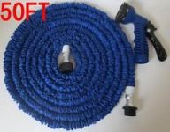 50 Feet Expandable Garden Hose Multi Functional Spray Gun 15 M Water Hose
