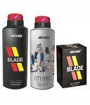 Archies Deo City Gang & Blade + Perfume Blade-(code-vj624)