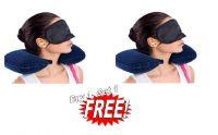 3 In 1 Travel Set-neck Pillow Eye Mask Ear Plug