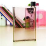 Snr A5 Memo Paper Bottle Flat Portable Notebook Water Bottle 420 Ml