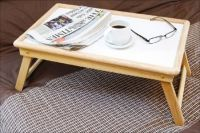 Multipurpose Wooden Foldable Laptop Table And Tray