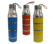 Set Of 3 Colorful Insulated Hot & Cold Water Bottle 1000 Ml