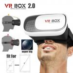 "Head Mount Plastic Vr Box 2.0 Version Vr Virtual Reality Glasses Google Cardboard 3d Game Movie For 3.5"" - 6.0"" Smart Phone"