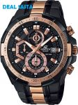 Imported Casio Edifice 539bkg Watch For Men By Deal Sasta