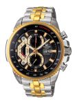 Imported Casio 558sg 7avdf Black/gold Dial Chronograph Watch For Men