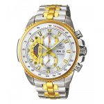 Casio Edifice Tachymeter Chronograph Black Dial Men