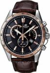 Imported Casio Edifice 510 Black And Copper Dial Watch For Men By Deal Sasta