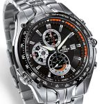 Imported Casio 543d 1avdf Black Dial Chronograph Watch For Men