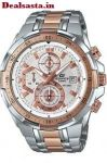 Imported Casio Edifice Efr 539 Rosegold Watch For Men