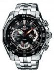 Casio 550 Black Dial Silver Chain Watch For Men