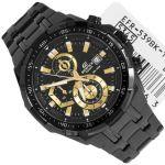 Imported Casio 539bk-1av Full Black Chronograph Watch For Men
