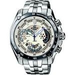 Casio Round White Metal Watch For Men_code-ed391