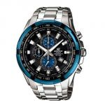Casio Round Black Metal Watch For Men_code-ed462