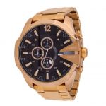 Imported Diesel Chief Chronograph Black Dial Stainless Steel Men