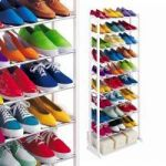 Amazing Shoe Rack Portable With 10 Layer Holds Upto 30 Pairs Shoe