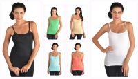 6-pack Stretchable Camisole Tank Tops - Combo 1