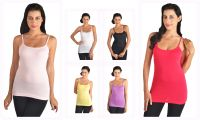 6-pack Stretchable Camisole Tank Tops - Combo 2