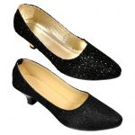 Combo Pack Of Two Black Sparky Ballerina For Women (code - 1509_2_1334_bal_1335_bal)