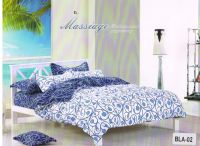 Welhouse India Polycotton Graphic Double Bedsheet With 2 Pillow Cover