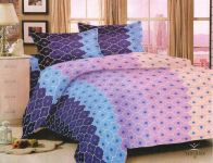 Welhouse King Size 1 Double Bedsheet With 2 Pillow Covers Nmjs-018
