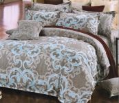 Welhouse India Contemporary Cotton King Bedsheet With Two Pillow Cover