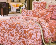 Welhouse India Ikat Design Cotton Double Bedsheet With Two Pillow Cover