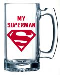 10 AM My Superman Beer Mug ( Bmms1 )
