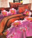 Sai Arpan 3d Print Double Bed Sheet With Pillow Covers D.no. 158