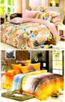 Sai Arpan Set Of 2 Double Bed Sheet With Pillow Covers D.128-131