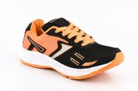 Provogue Stylish & Attractive Light Black And Orange Sport Shoes