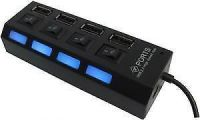 High-speed 4 Ports USB 2.0 Hub With On / Off Switch /hub