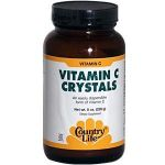 Country Life Vitamin C Crystals, 8-ounce