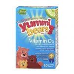 Yummi Bears Vitamin D3, 60-count Bottle (pack Of 2)