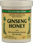 Panax Ginseng In Honey Ys Eco Bee Farms 11.0 Oz Liquid