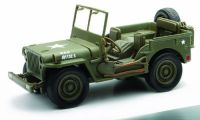 New Ray Jeep Willys 1 32 Scale Die Cast Model Car Ww II Military Us Army Vehicle