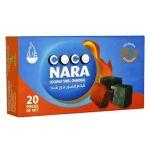Coco Nara Hookah Shisha Natural Charcoals 20 Pieces