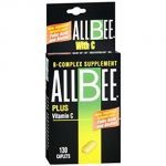 Allbee B-complex With Vitamin C Caplets - 130 Caplets
