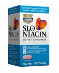 Slo-niacin 500mg, Polygel Controlled-release Niacin 150 Tablets Each (pack Of 2)