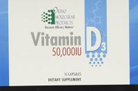 Ortho Molecular Products Vitamin D3 50000iu 15 Capsules