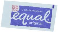 Equal Zero Calorie Sweetener 800 Individual Serve Packets
