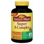 Nature Made Super B-complex With Vitamin C And Folic Acid - 460 Count